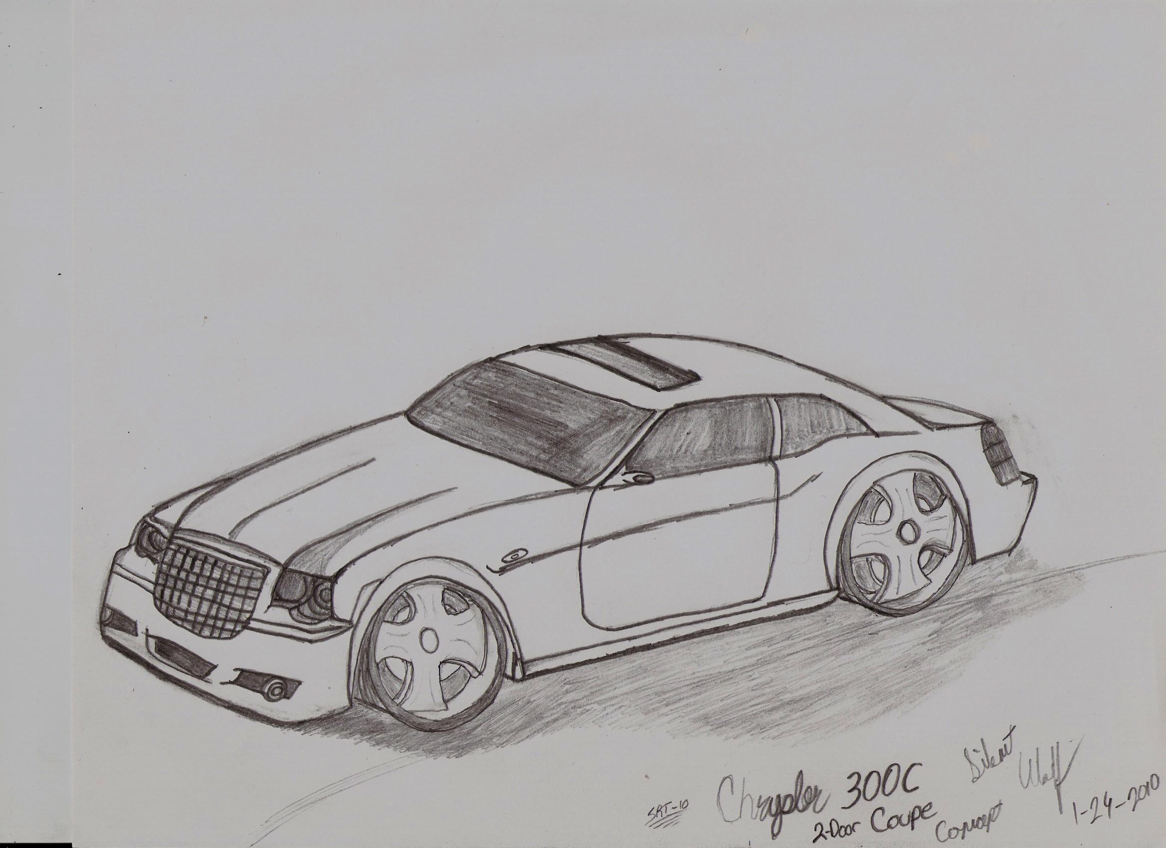 Chrysler SRT-10 300C concept