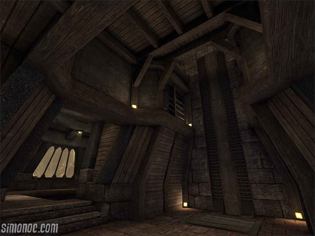 Wooden Vault