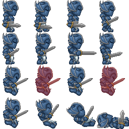Dragon Knight Sprites