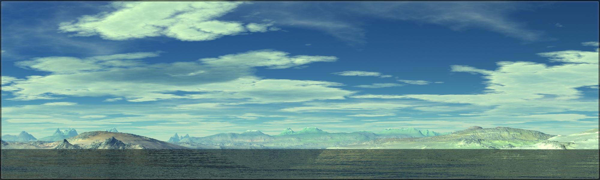 Water Earth Sky