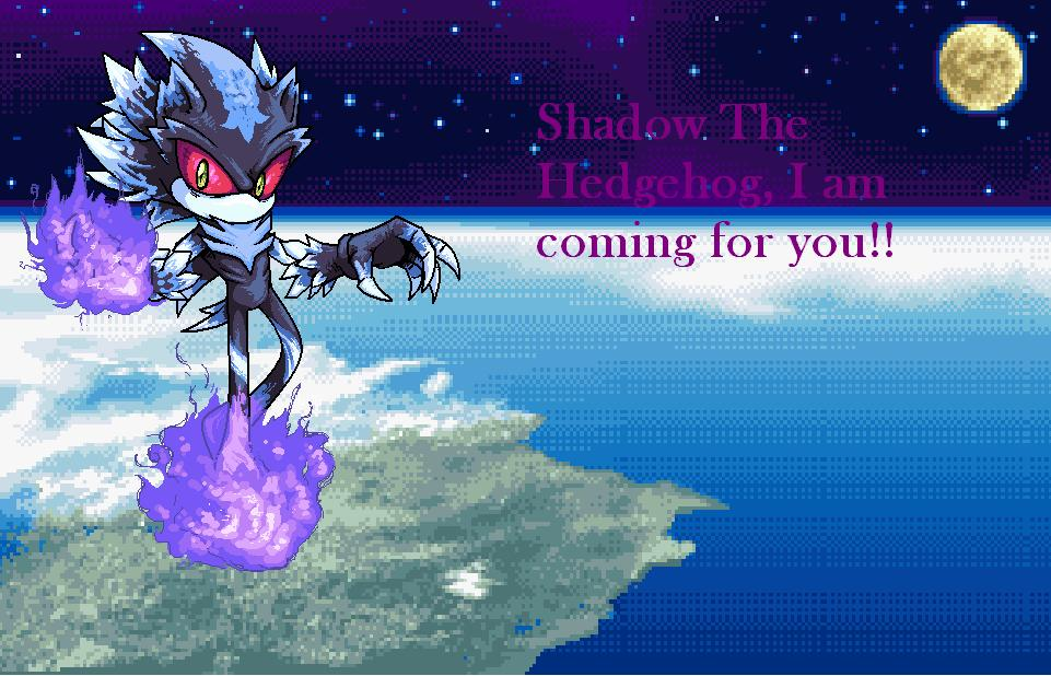 Mephiles is after Shadow