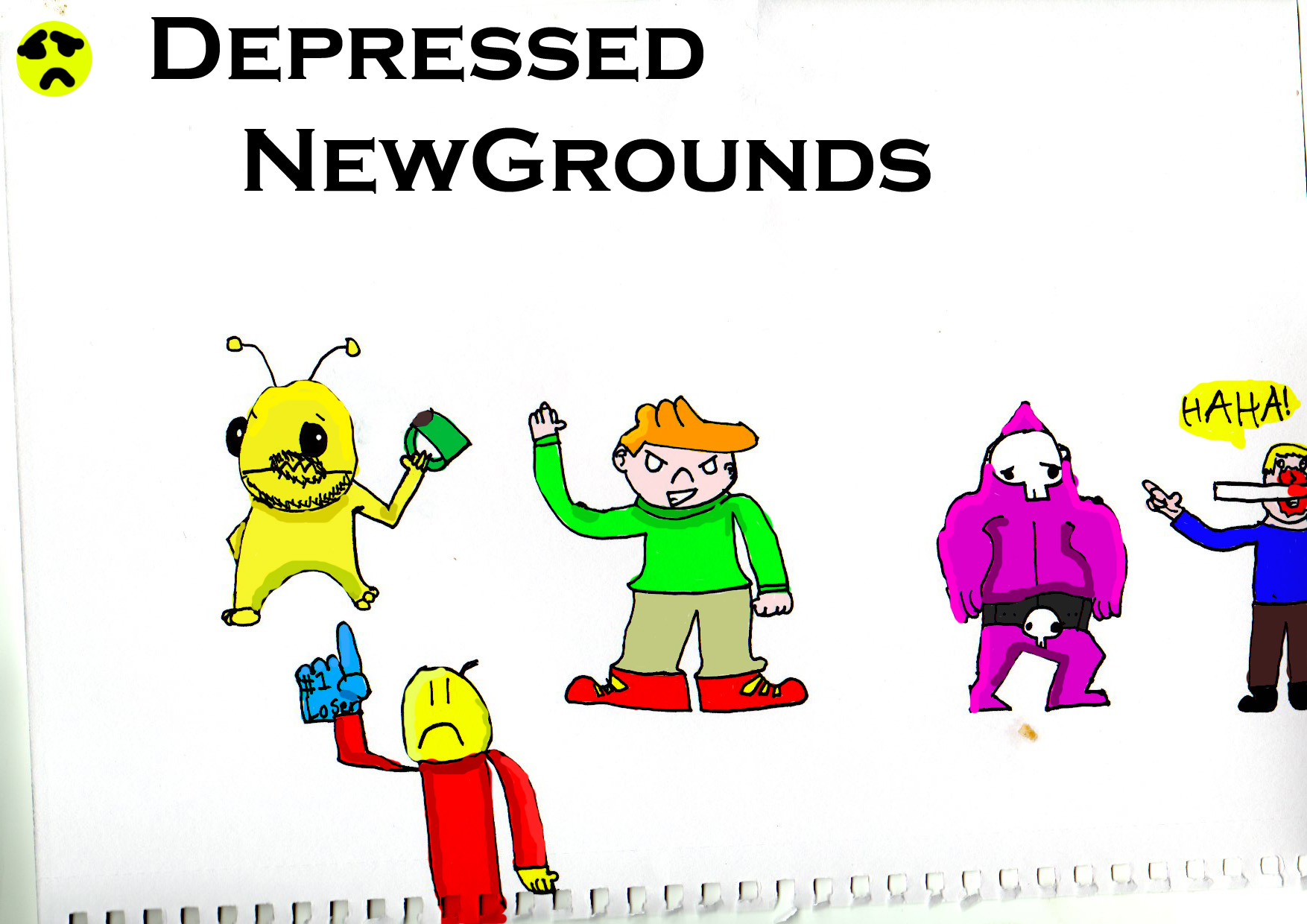 The other side of Newgrounds