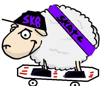 skater sheep