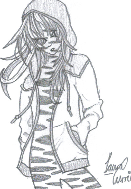 Anime Tiger Girl