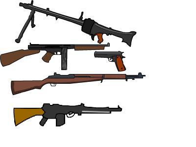 My World War ll Guns