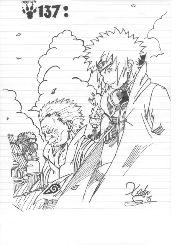 Naruto Ch.137 Drawing