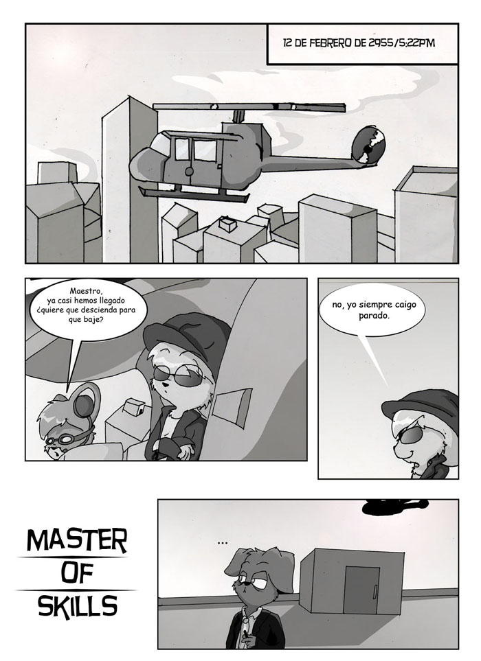 Master of skills page 1