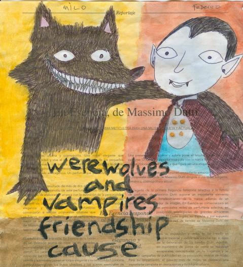 Werewolves and vampires