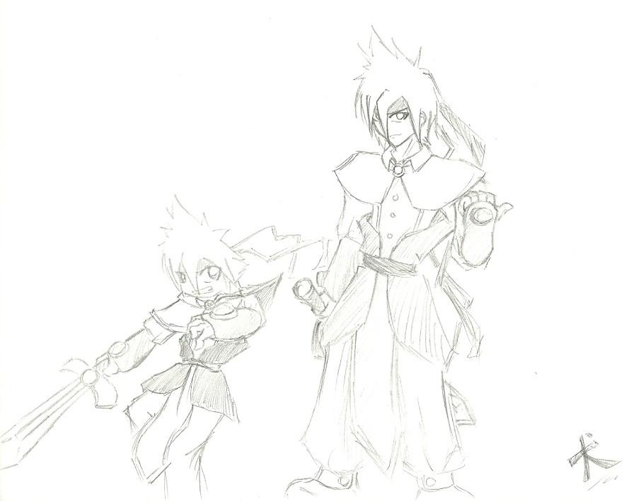 Some manga warrior guy