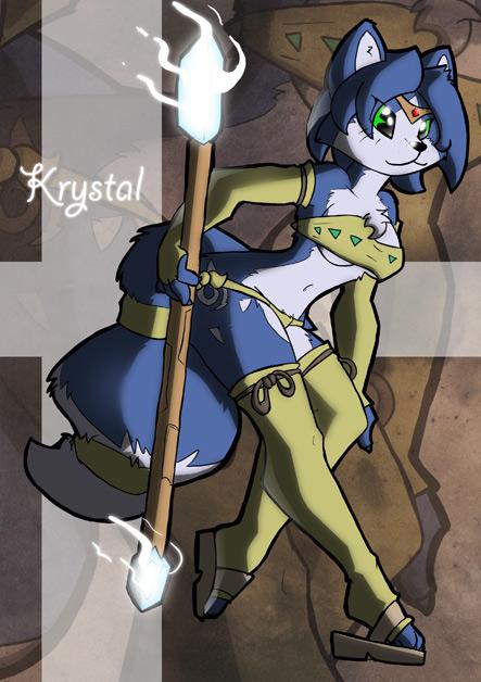 Krystal from Starfox