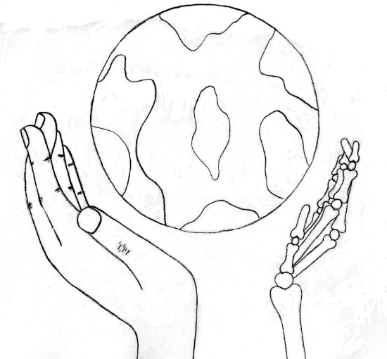 Ying Yang Hands