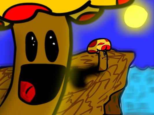Mushy the Mushroom Man