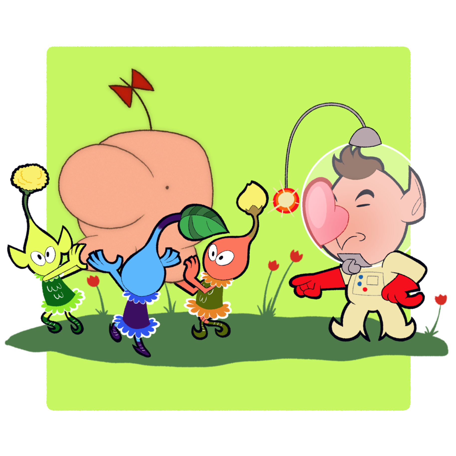 Fighter 40: Pikmin and Olimar