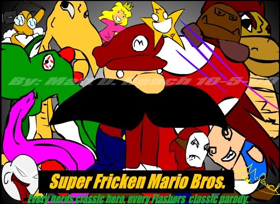 Super Freakin Mario Bros