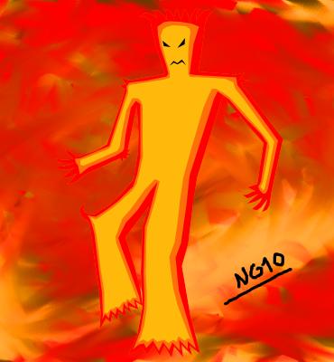 Fire Demon(Simple Stuff)