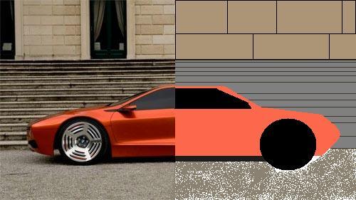 Split worlds(its a car