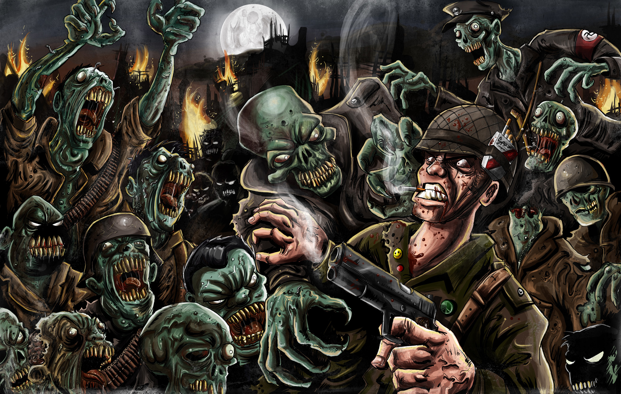 The Living Dead - Zombies