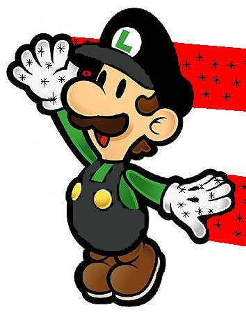 Flying Paper Luigi
