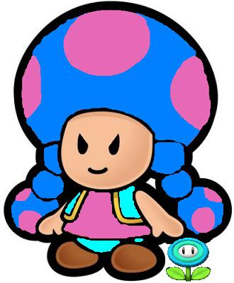 Paper Ice Toadette