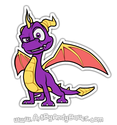 Spyro Fan Art