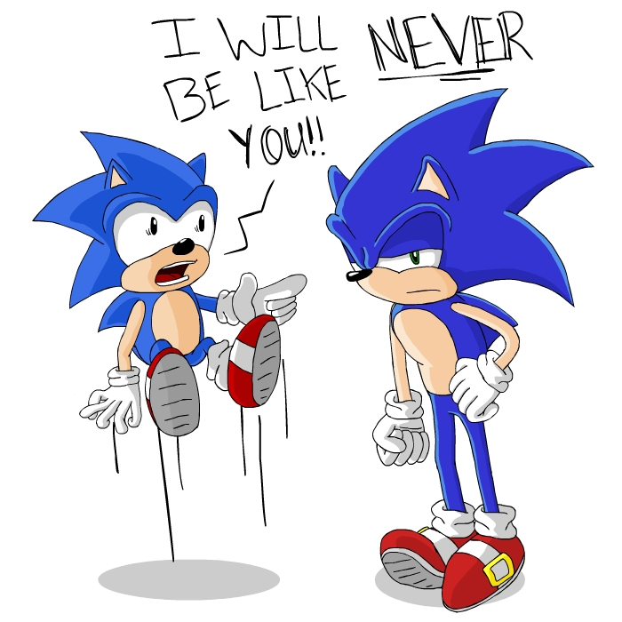 Sonic meets Sonic