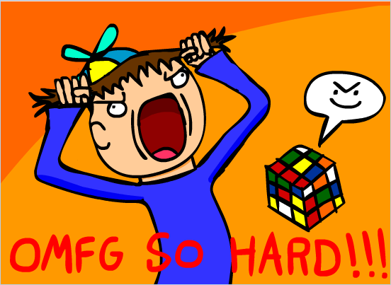 OMFG!!! Rubriks Cube