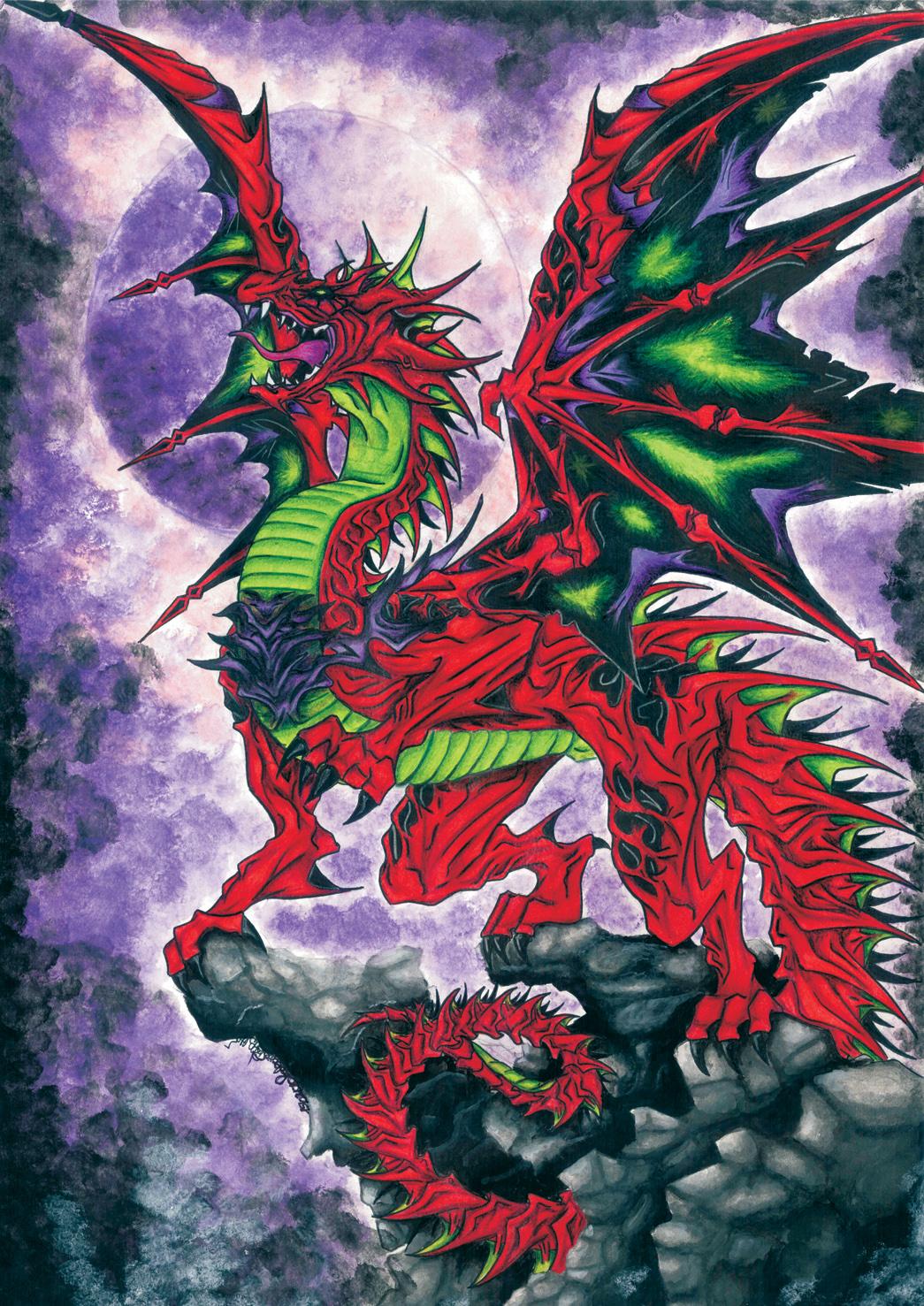 Moon's dragon