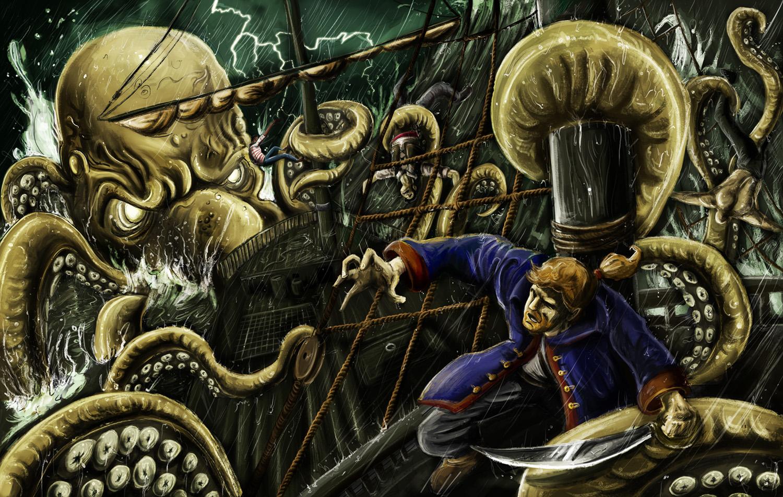 Kraken-Ruler of the seven seas