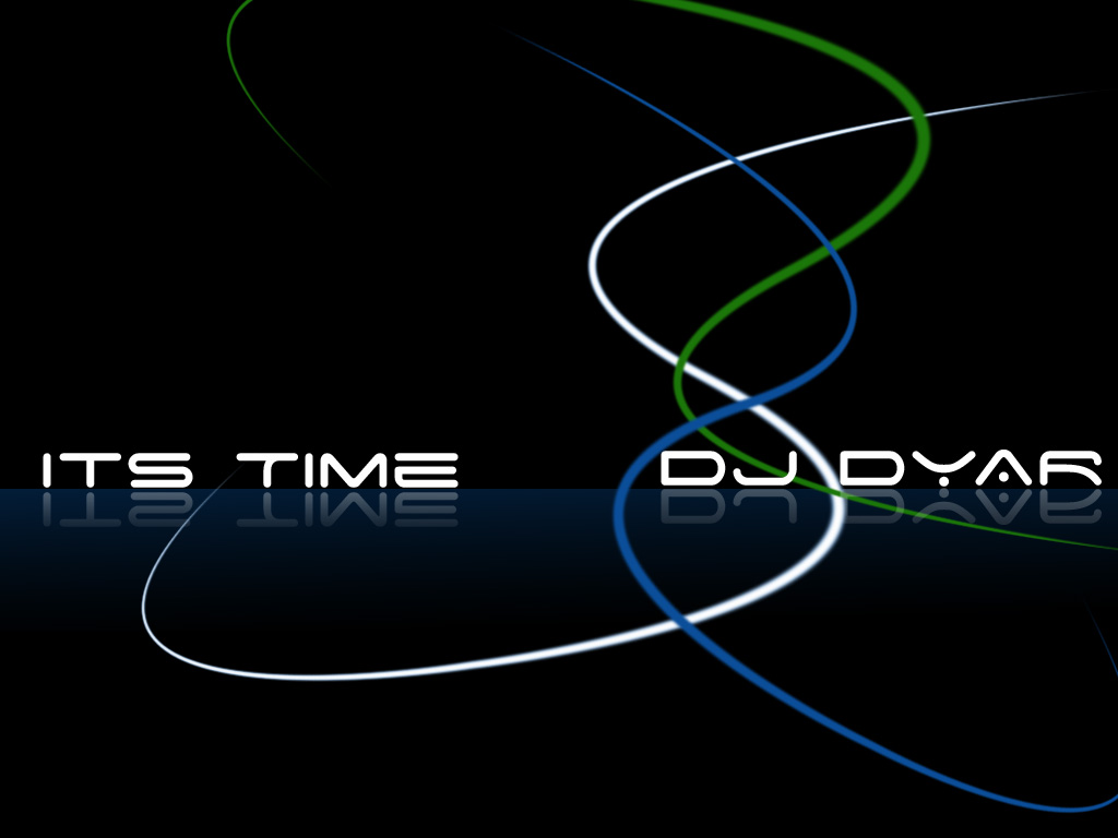 Its Time DJ Dyar Ablum Cover