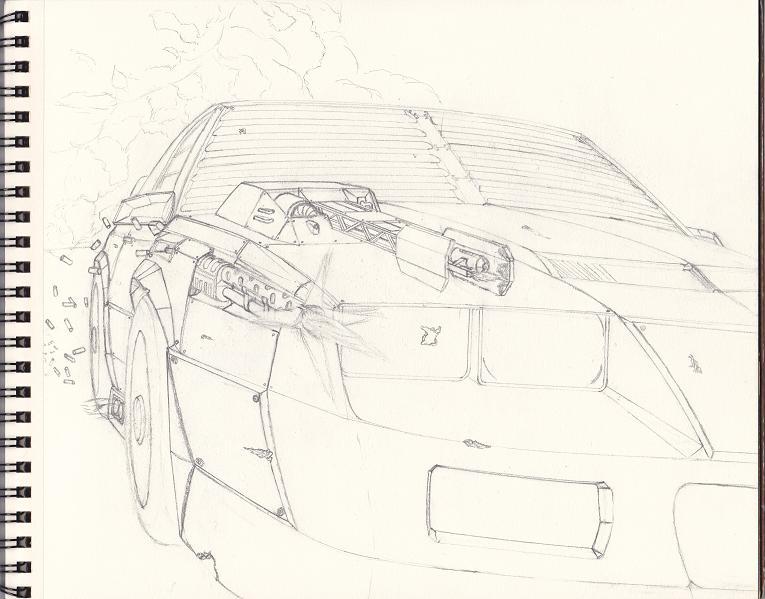 WIP-Death Race Camaro