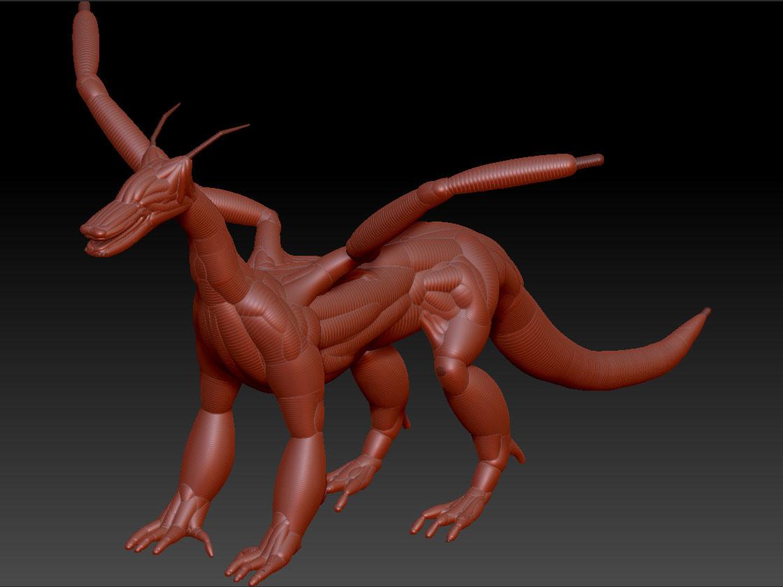 dragon Zsketch