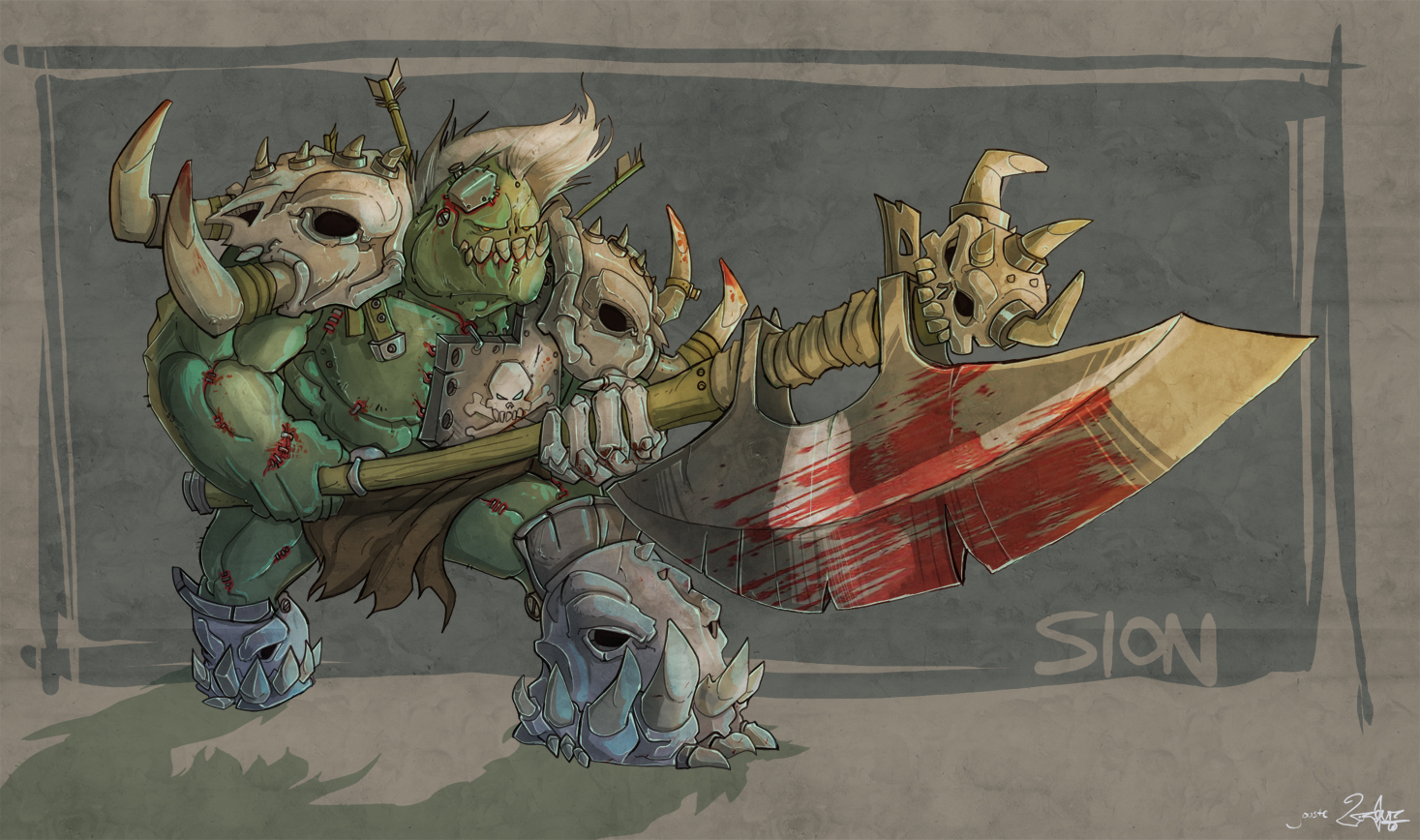 sion the slaughterer!