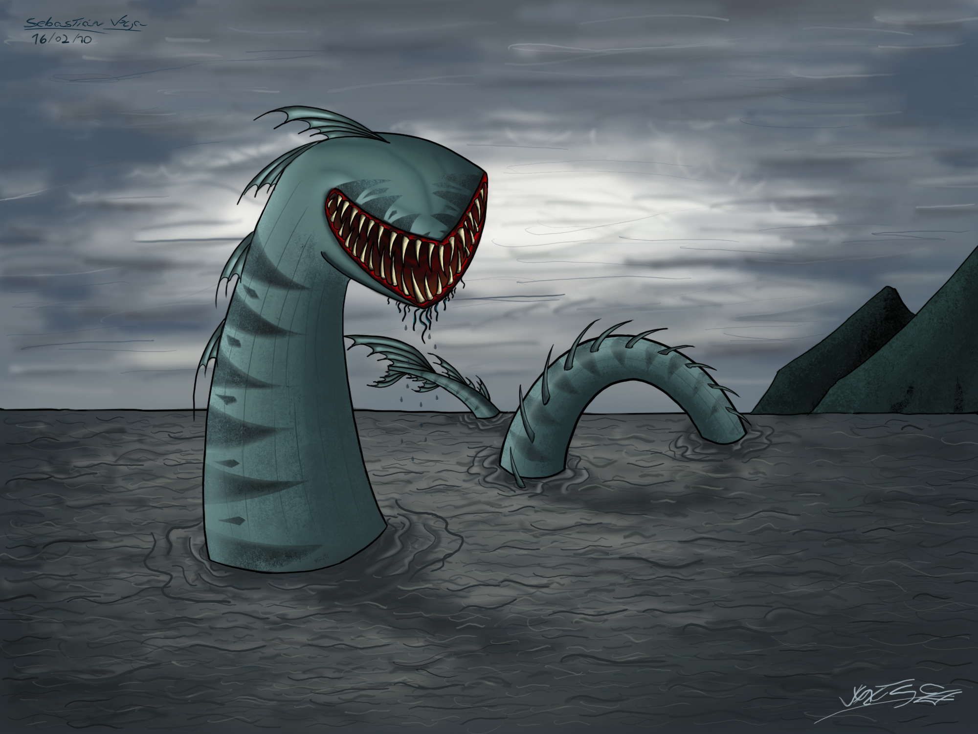 Marine monster