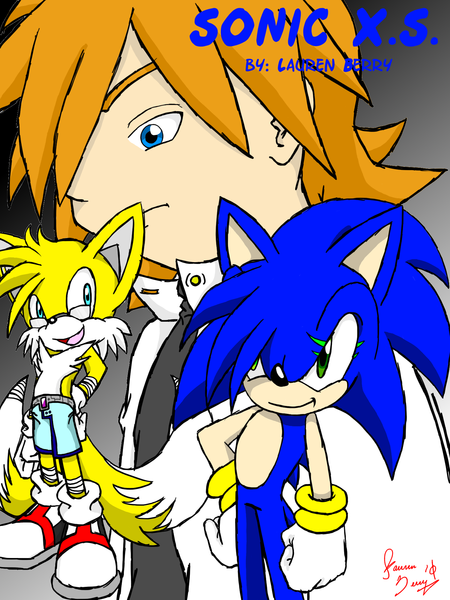 SONIC X.S. ::Cover::