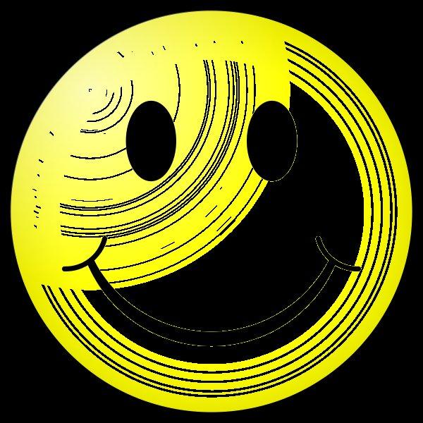 cool moon smiley
