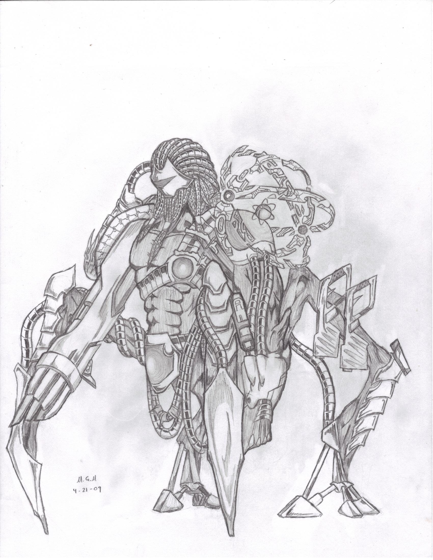 High Tech Alien