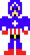 Captain America (8-bit)