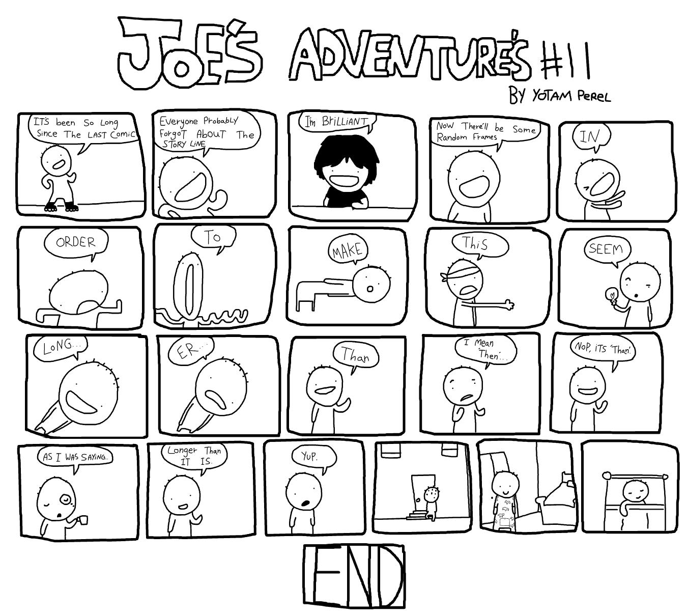 Joe's Adventures 11