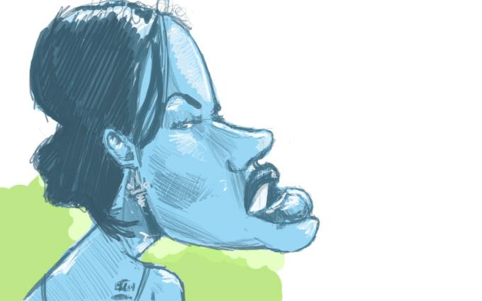 Megan Fox sketch