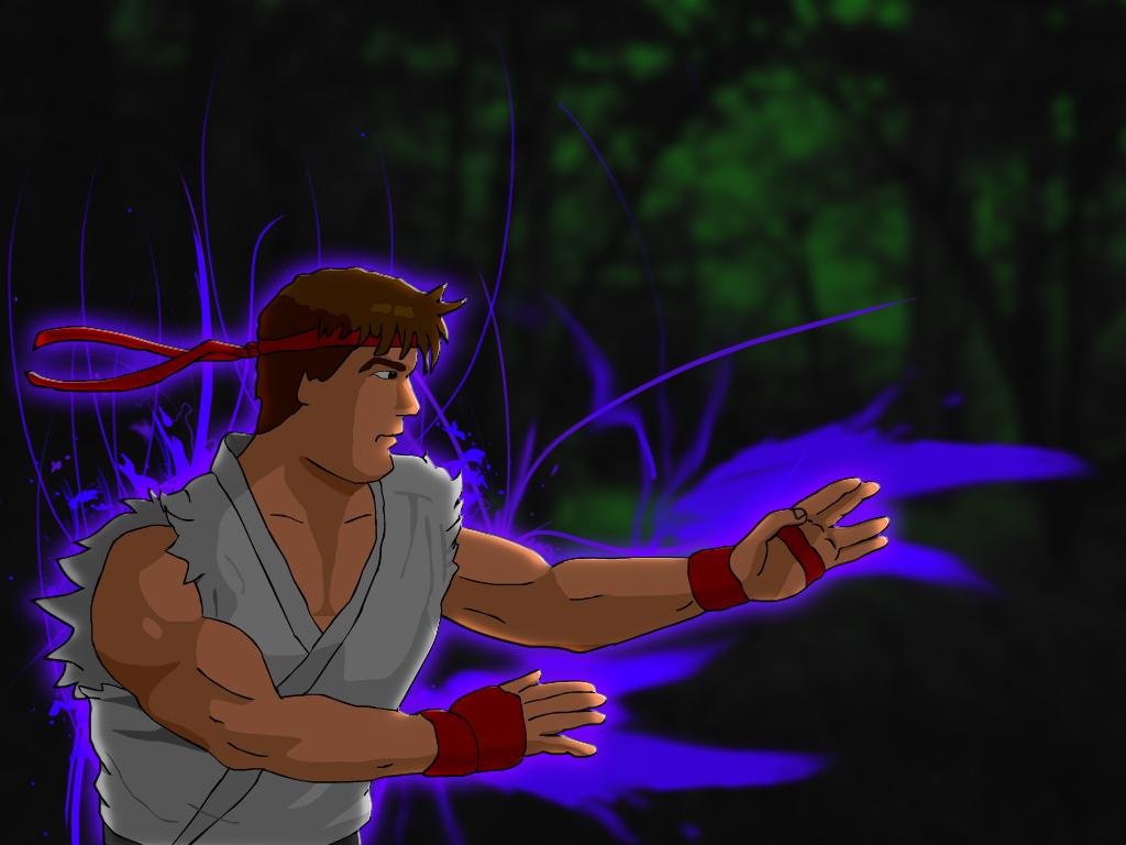 Ryu is a BAMF
