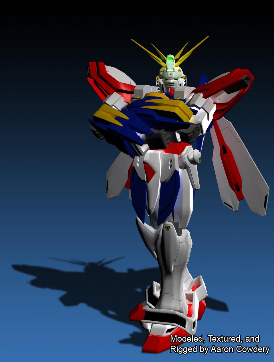 Burning Gundam-3D