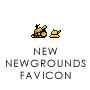 a new NEWGROUNDS favicon