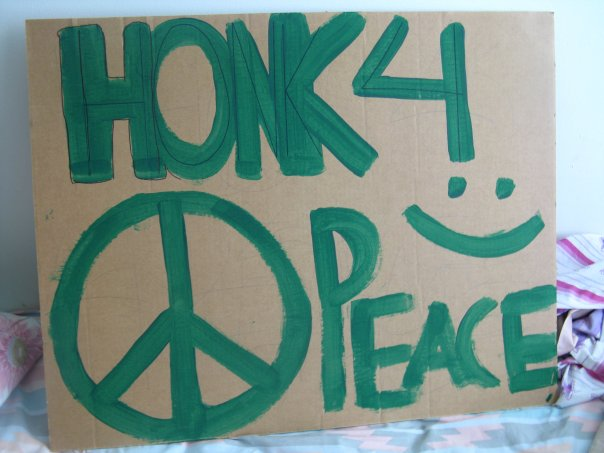 Honk For Peace