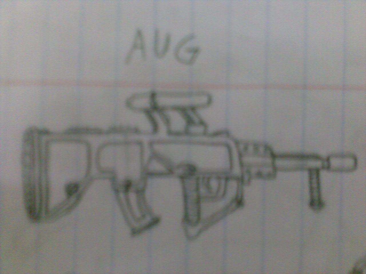 Steyr AUG Drawing
