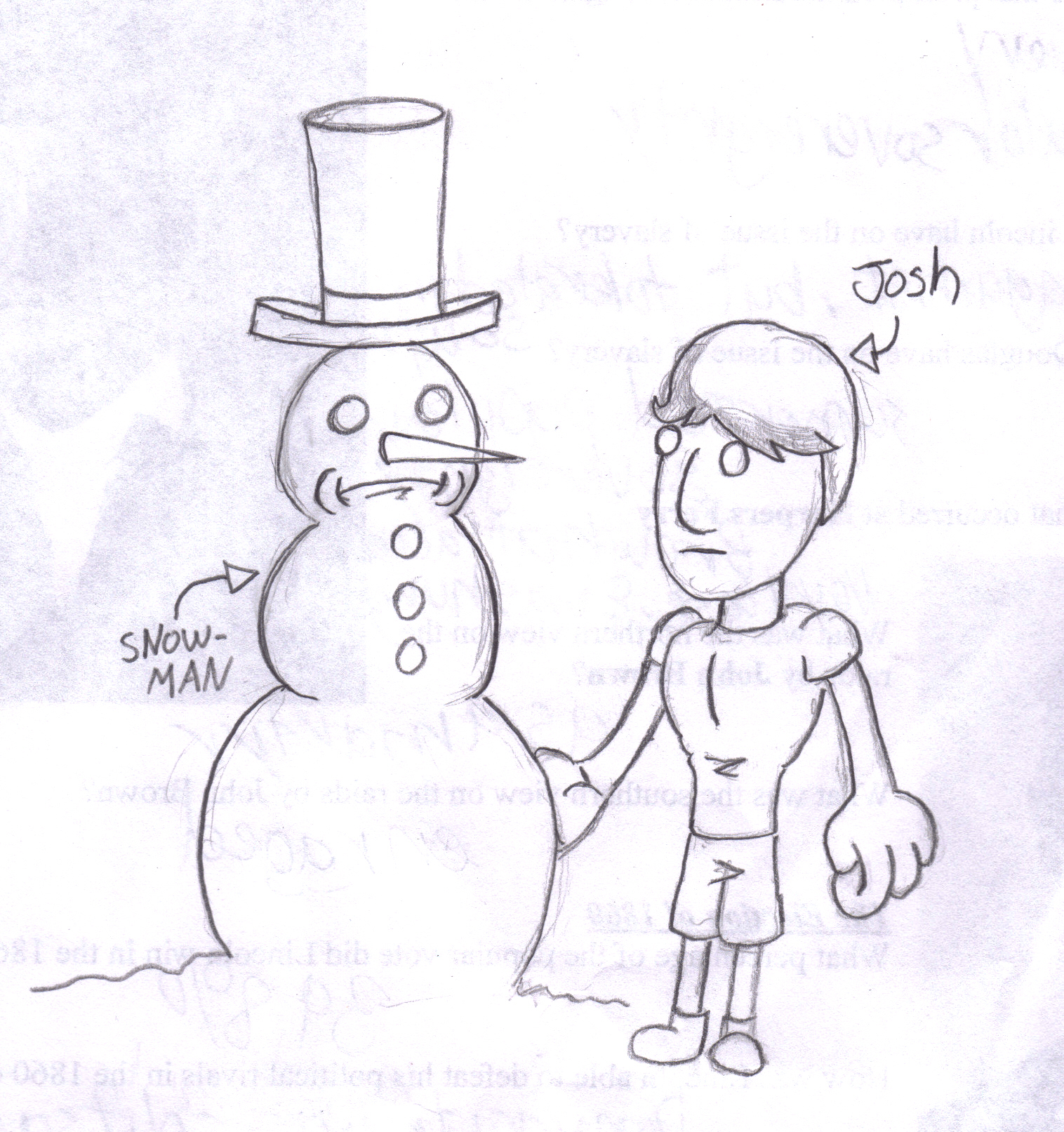 Josh and the Snowman
