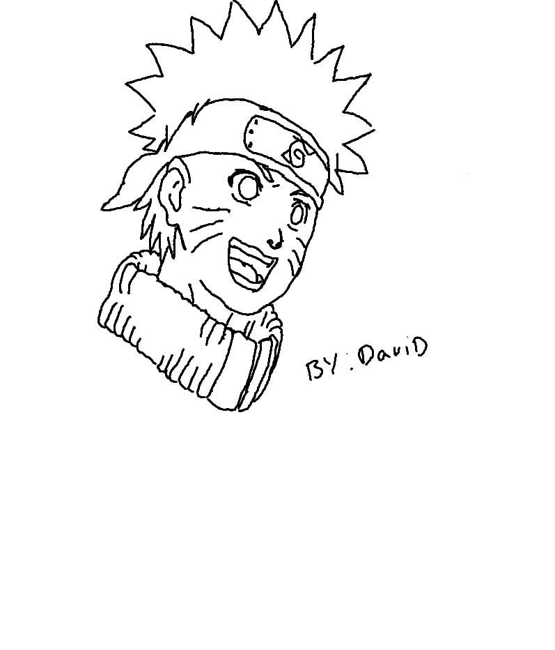 quick sketch of naruto
