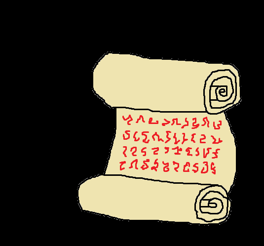 The scroll of life