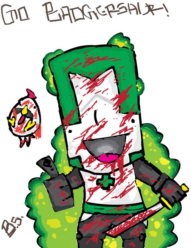 Castle Crasher Green Knight