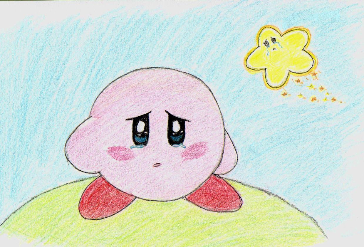 Sad Kirby