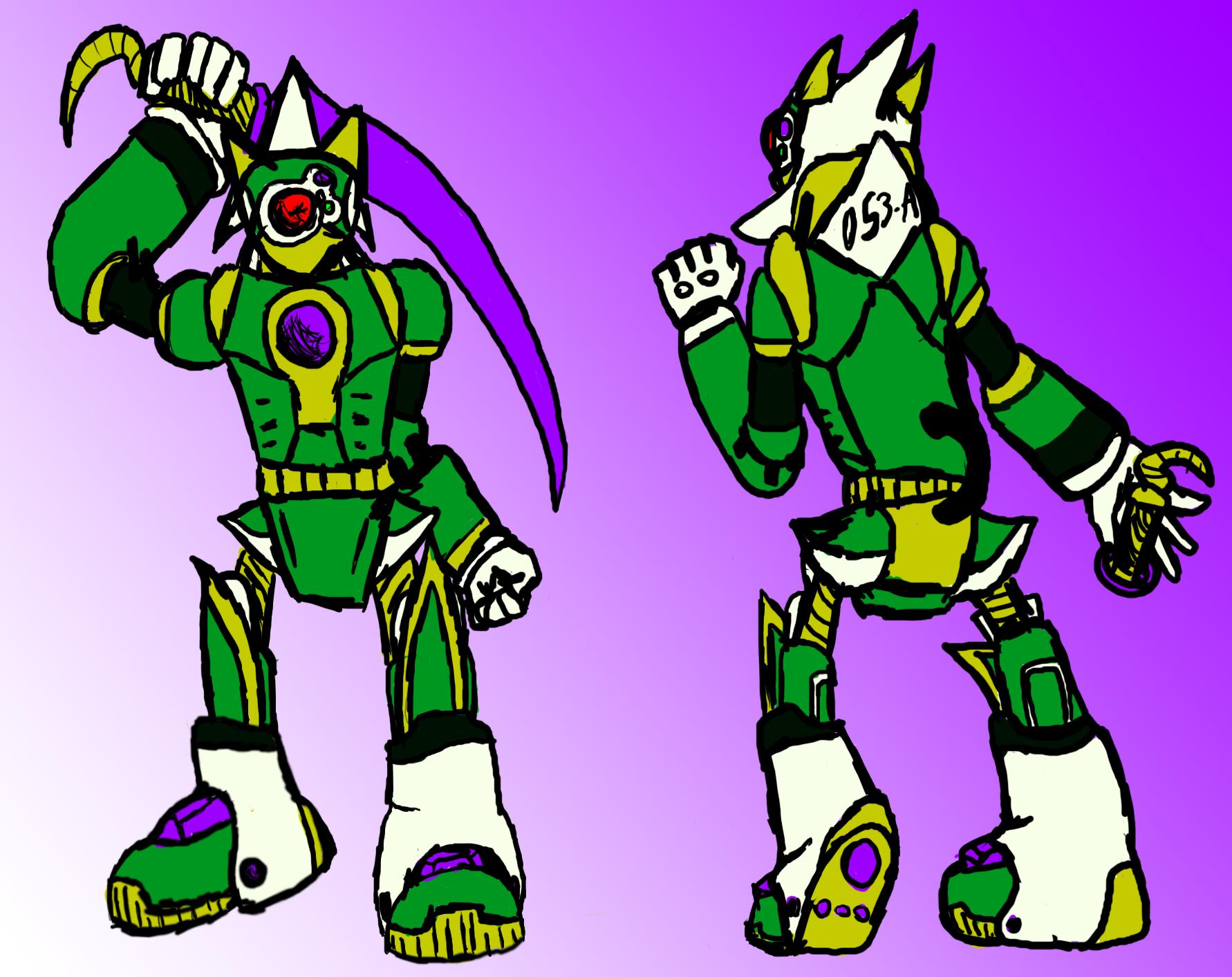 Swordman Character Design Idea